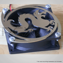 Dragon stainless steel laser cut fan grill quantities are limited