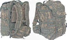 Molle packs with frame   Acu,