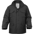 Black - Military M-65 Field Jacket -