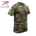 A must have for anyone! Rothco's Camouflage T-shirts feature a poly/cotton blend and available in sizes from XS - 7XL. Rothco's camo t-shirts offer a great value and are perfect for screen printing.