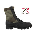 "GI TYPE  JUNGLE BOOT / 8"" - BLACK"