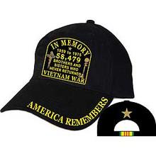 CAP-VIETNAM,IN MEMORY (BRASS BUCKLE)
