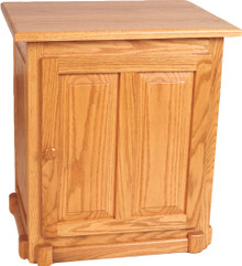 MF501 Square Raised-Panel End Table