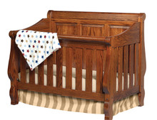ABC CR111-RP Heirloom Raised Panel Crib
