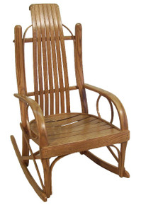 MCS 205 Bent Oak Rocker