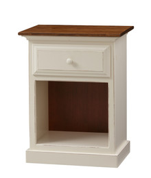 Pine 1-Drawer Nightstand