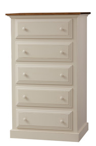 Pine 5-Drawer Chest of Drawers