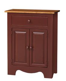 Pine Microwave Cabinet