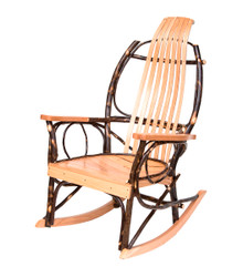 RT-002 Natural Hickory Rocker