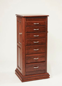"WS 141 48"" Deluxe Armoire w/ Rope Twist"