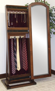 CC 1037-125 Antique Shaker Jewelry/Tie Leaner