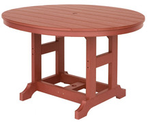 """48"""" Round Poly Table"""