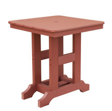 """28"""" Square Poly Table"""