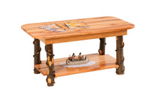 CH 225H Hickory Coffee Table