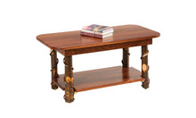 CH 225W Hickory/Walnut Coffee Table