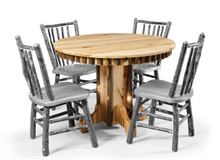 CH 315 Round Hickory Dining Table