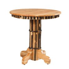 CH 350 Round Hickory Pub Table