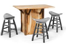 CH 360 Hickory Bar Table
