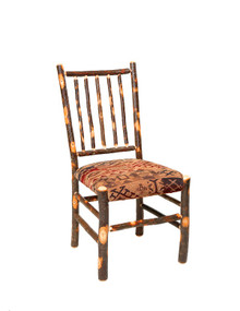 CH 435 Cushioned Hickory Stickback Chair