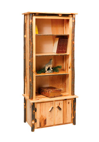 "CH 500 Hickory 32"" Bookcase"