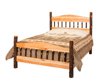 CH 615 Hickory Panel Bed