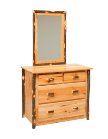 CH 625 Hickory 4-Drawer Dresser w/optional mirror