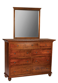 ABC GB802 Tall Dresser w/mirror