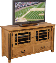 CO 688 Carlisle Fluted Mission TV Stand