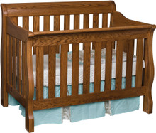 JR Traditional Slat Crib (Convertible)