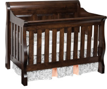 JR Traditional Panel Crib (Convertible)