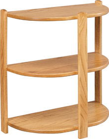 CO 2038 Small 3-Tier Half Round Stand