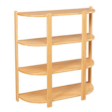 CO 2044 Large 4-Tier Half Round Stand