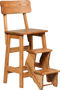 CO 300 Flip Out Step Stool w/back