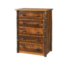 CH 630 Rustic Cherry 5-Drawer Chest