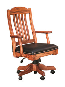 BR-RDAC330 Royal Desk Arm Chair