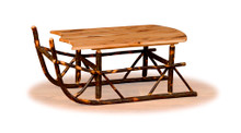 BRG Rustic Sleigh Coffee Table