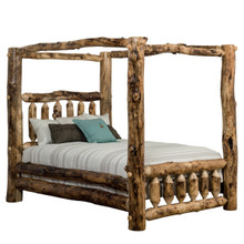 Colorado Aspen Canopy Bed