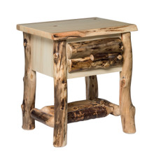 Colorado Aspen 1 Drawer Nightstand