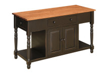 J-82 Pine Kitchen Island