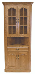 Traditional Corner Hutch
