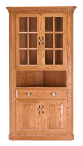 Small Traditional Corner Hutch