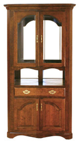 Valley French Corner Hutch