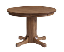 """Square One"" Pedestal Table (E)"