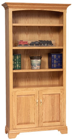 GO-3158 Stockton Bookcase, With Doors
