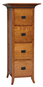 GO-3191 Mt. Eaton Four-Drawer Filing Cabinet