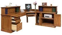 GO-3210 Executive Desk, L-Shape