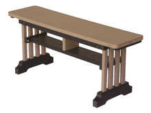 Garden Mission Straight Bench