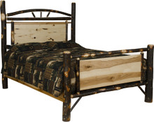 BRG Rustic Panel Bed