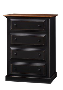 Pine 4-Drawer Chest of Drawers