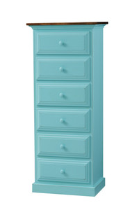 Pine 6-Drawer Chest of Drawers